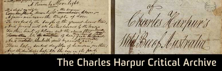 The Harpur Critical Archive