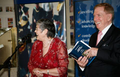 Justice Michael Kirby and Elizabeth Webby